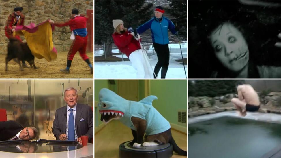 FOLKEFAVORITTER: Både barn, voksne og dyr får komikerne i «Klippkompaniet» til å trekke på smilebåndet. Se hvordan du laster opp din video til programmet nedenfor.