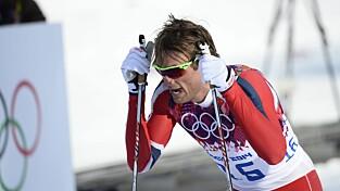 HAR SLITT I OL: Petter Northug ble vraket til 15-kilometeren av landslagsledelsen. Foto: Maja Suslin / TT / Kod 10300