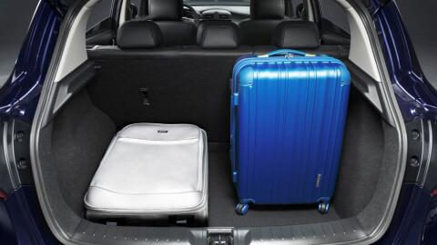 Tross kompakte utvendig mål, lover Nissan god innvendig plass.