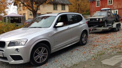 Egentlig er Julian BMW-entusiast, men akkurat Fiesta har likevel en spesiell plass i hjertet. Foto: Privat
