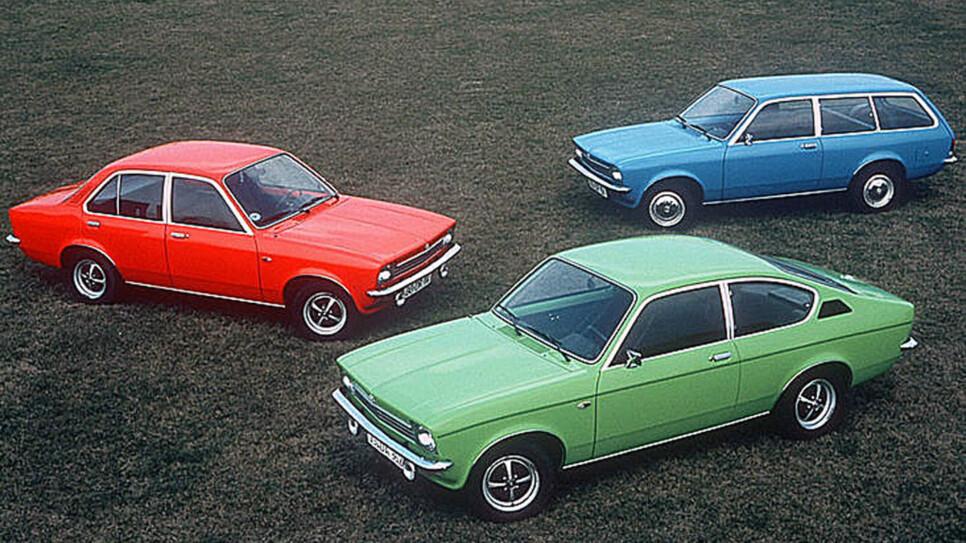 Opel Kadett C var en stor suksess i Norge. Her er et lite utvalg av modellpaletten.