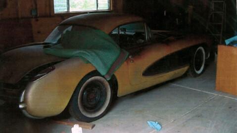 Slik så bilen ut da den skiftet eier i 2004 og slik ser den forsatt ut. Foto: e-Bay