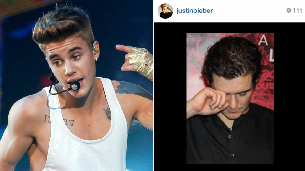 Justin Bieber Orlando Bloom fight