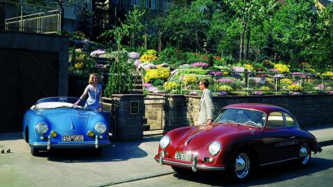 """Den debuterte i 1948 - og var en stor suksess for Porsche. Så er da også svært mange av 356-ene som ble produsert fortsatt """"i live""""."""
