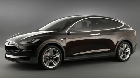 Model X blir helt klart en av de mer elegante SUV-ene på markedet - og en av de raskeste. 0-100 km/t skal gå unna på rundt fem sekunder i raskeste utgave.