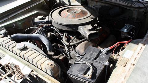 7,2-liters motor med 375 hestekrefter, så her er det muskler... Foto: ebay