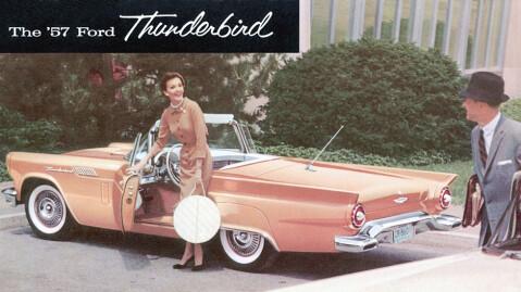 Den litt mer skulpturerte 1957-modellen er kommet litt i skyggen av de opprinnelige 1955- og 1956-modellene, men er helt klart en av de bilene som har gjort verden litt vakrere.