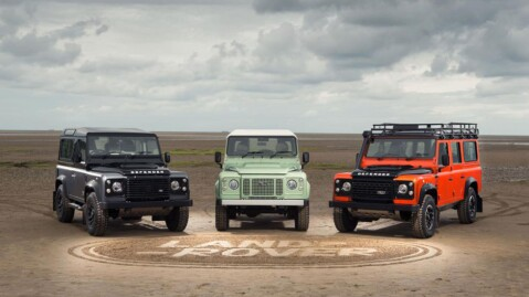 Land Rover Defender har holdt stand siden 1948.