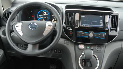 Du forventer neppe å finne et eksklusivt interiør i en bil som dette (og det får du heller ikke). Men det er funksjonelt og praktisk i daglig bruk.