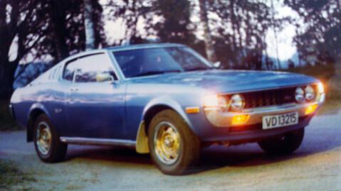 Dette bildet ble tatt i 1984, rett før Magnar solgte drømmebilen. Nå - etter 31 år, har han kjøpt den tilbake og pusser den opp. Foto: Privat.