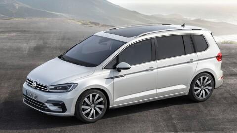 De kompakte flerbruksbilene har falt mye i salg de siste årene, VW håper at helt ny modell skal få ny fart på Touran-salget.