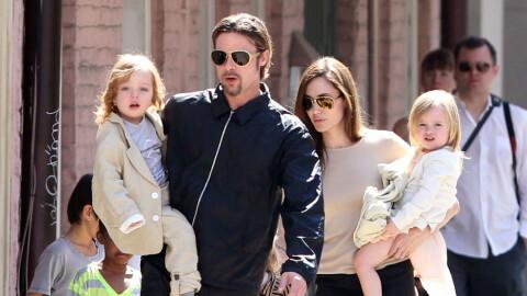 Brad Pitt og Angelina Jolie har inngått avtale om barna