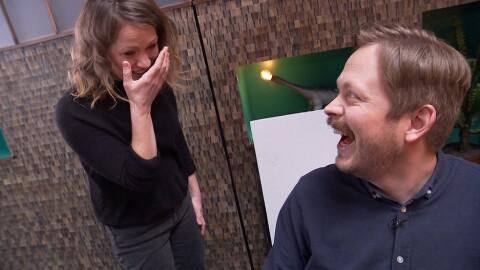 Tårevått da Einar Tørnquist lanserte nytt talkshow