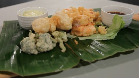 YouTube-stjernenes japanske tempura