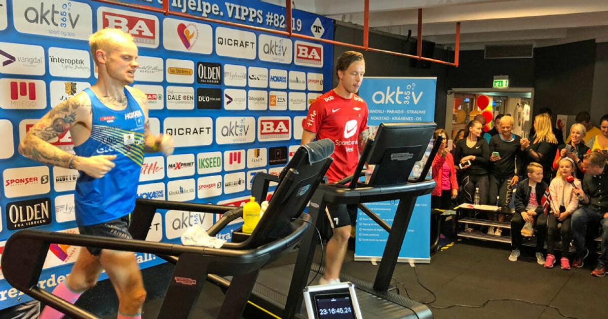 Bjørn Tore (39) satte utrolig verdensrekord - løp seks maraton på et døgn