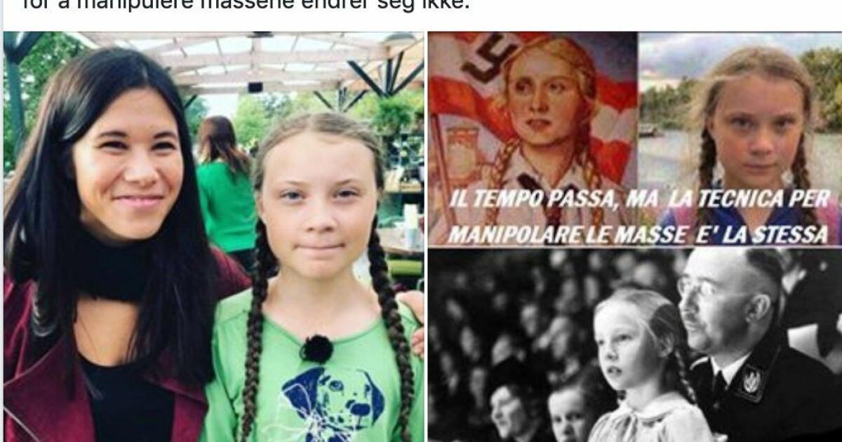 85af68766 Frp-politiker sammenlignet bilde av Lan Marie Berg og miljøaktivist ...