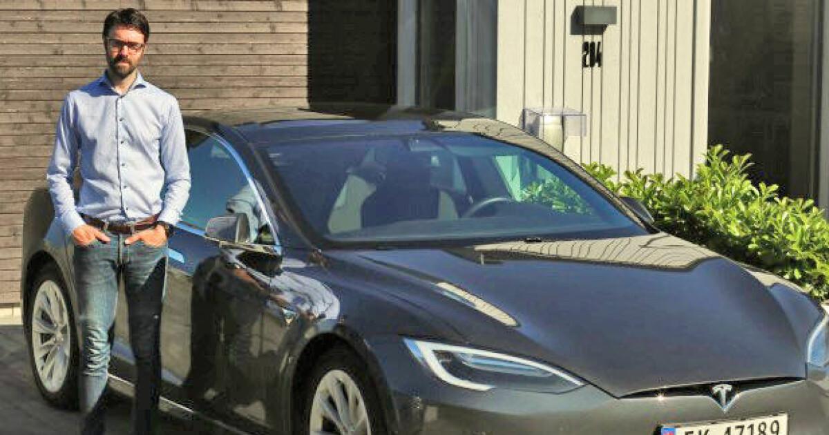 Teslaen sto på verksed i over et halvt år