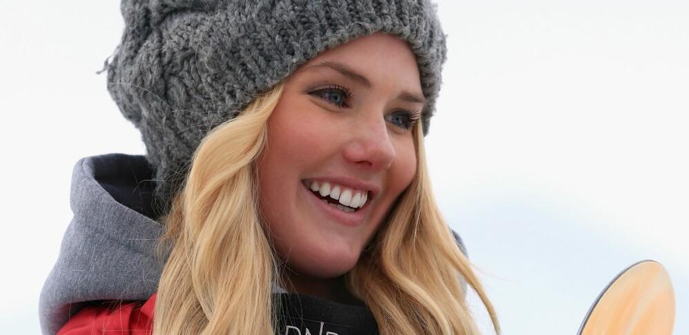 TIL OL: Snowboarder Silje Norendal skal representere Norge i slopestyle. Foto: Doug Pensinger/Getty Images/AFP