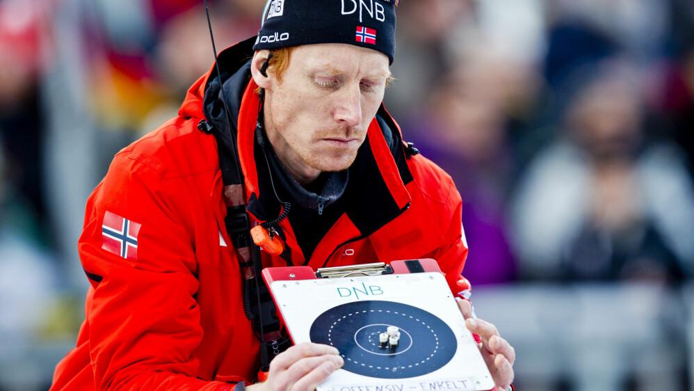 SLUTTER PÅ SKISKYTTERLANDSLAGET: Espen Nordby Andersen. Foto: Vegard Grøtt / NTB scanpix