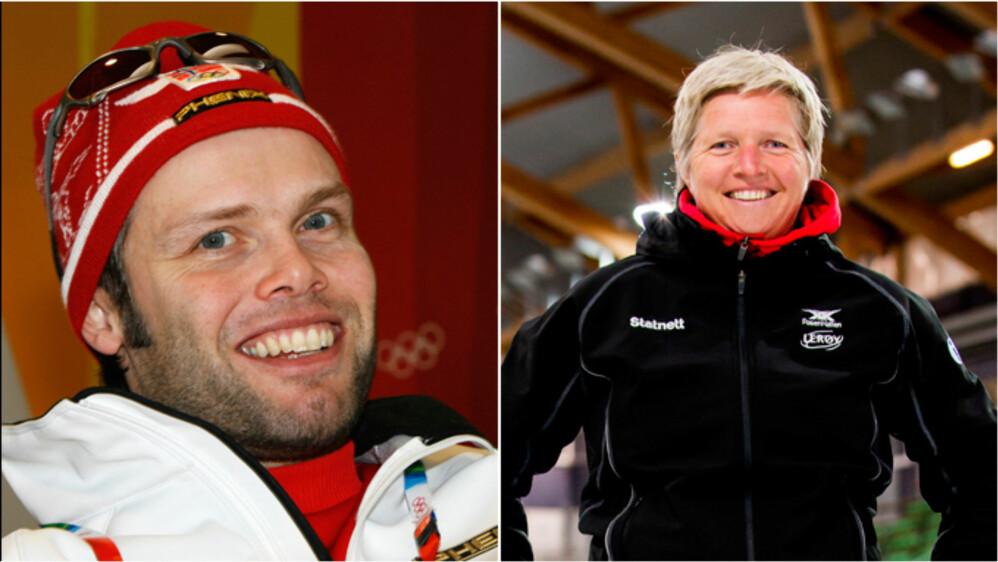 INN I TEAMET:Lasse Sætre og Edel Therese Høiseth gjør comeback på landslaget. Vel og merke ikke som løpere, men trenere. FOTO: SCANPIX
