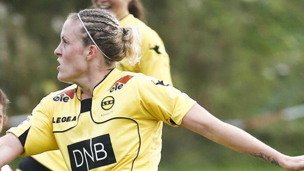 MATCHVINNER: Lillestrøms Isabell Herlovsen. Foto: Jan Kåre Ness / NTB scanpix