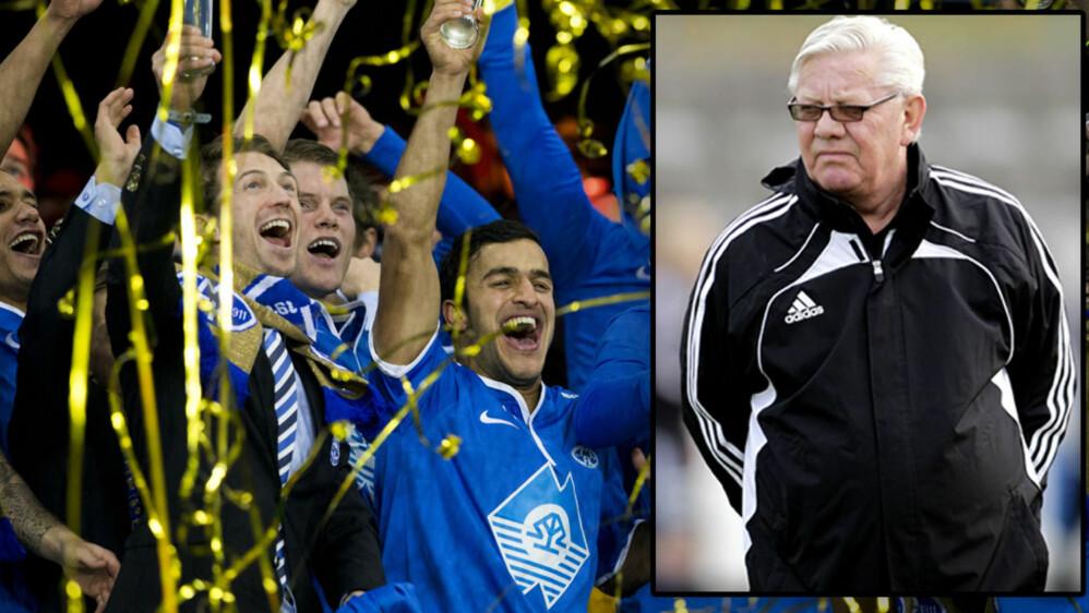 IKKE IMPONERT: Nils Arne Eggen mener at Molde må bevise mer før de kan sammenlignes med Rosenborg i storhetstiden.