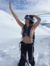 toppløs på fjellet sprutsugen
