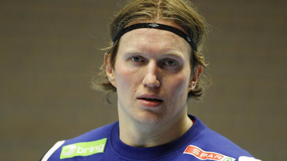 Tidligere landslagsspiller Frank Løke vil hjem til Norge og spille håndball for en klubb i Grundigligaen. Foto: Håkon Mosvold Larsen / Scanpix
