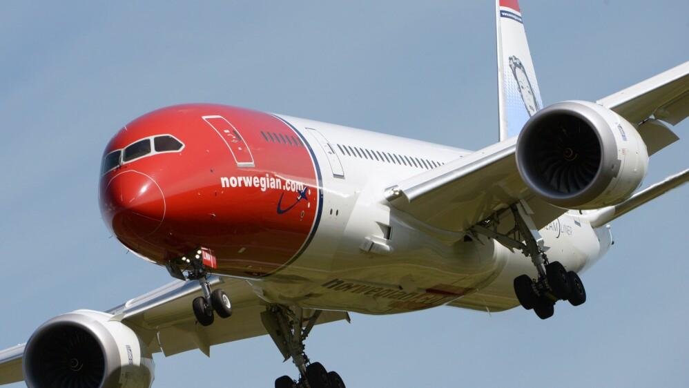 STREIKEFARE: Det er tatt ut plassoppsigelse av Norwegians piloter. FOTO: Johan Nilsson / NTB scanpix