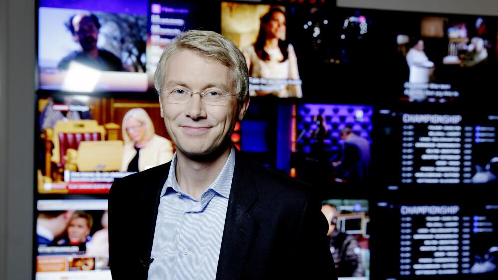 KJØPER GIGANTRIVAL: Olav T. Sandnes er sjefredaktør og administrerende direktør i TV 2. Nå blir han også sentral i C More. Foto: Paul S. Amundsen / NTB scanpix