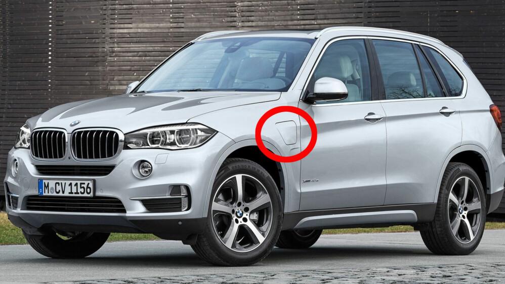 BMW ruller ut ladbar hybridteknologi på sin velvoksne X5. Blant konkurrentene er Audi Q7 og Volvo XC90 som også kommer med denne løsningen i år.