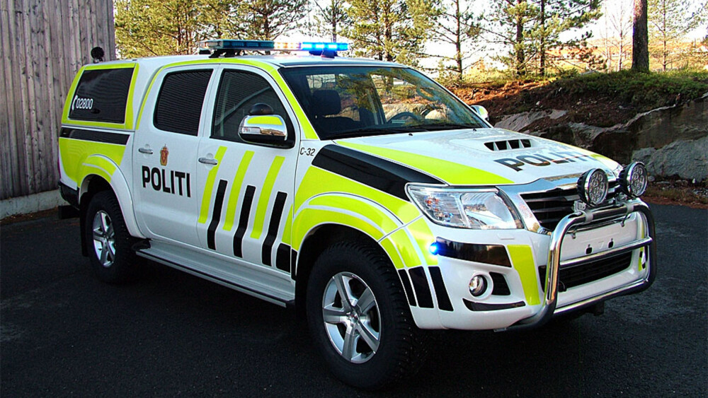 Norwegian Police Hilux Tacoma In The Us Toyota