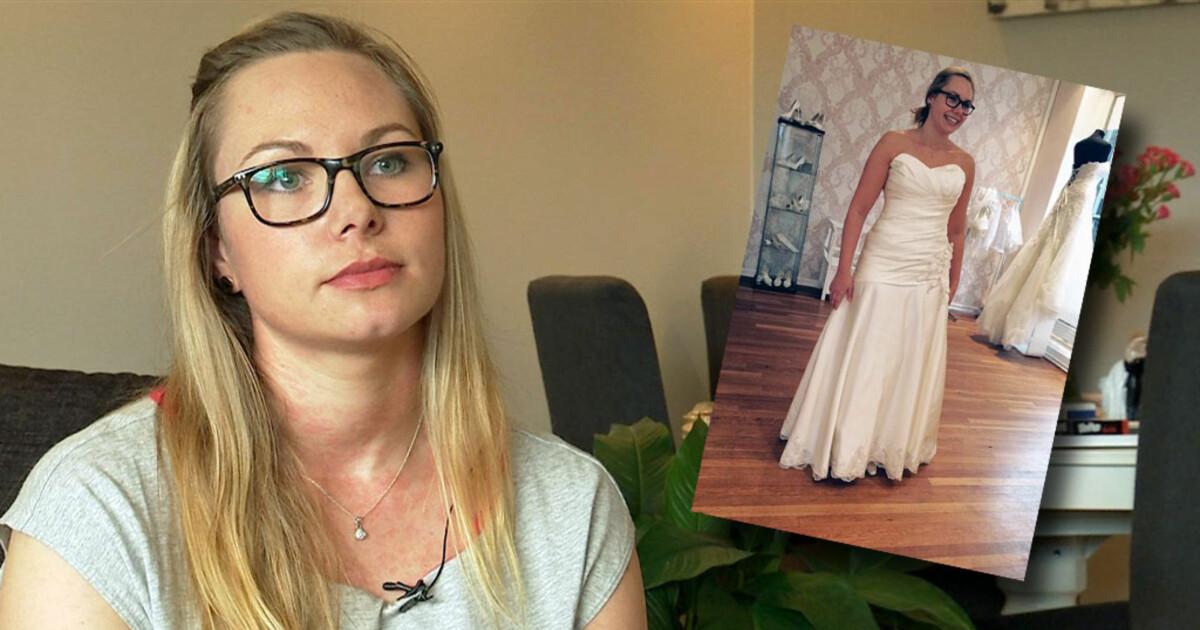 a00aaa5f Da Elisabeth (27) skulle hente brudekjolen, var butikken borte