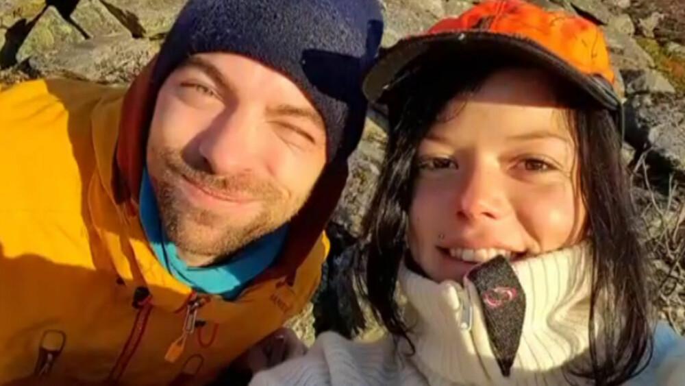HAR FUNNET KJÆRLIGHETEN: Kim-Daniel Sannes har funnet lykken med Johanne Thybo Hansen, kjent fra Jegertvillingene. FOTO: PRIVAT