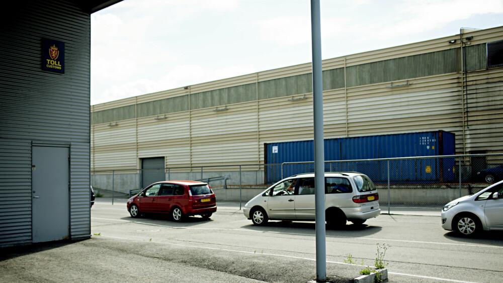 HJORTNESKAIA: Her på Hjortneskaia oppdaget tollerne mistenkelig last i et vogntog som kjørte av Kiel-ferga. Politiet ble varslet slik at seks personer senere ble pågrepet. Dette bildet er fra 2012. Foto: Stian Lysberg Solum / NTB scanpix