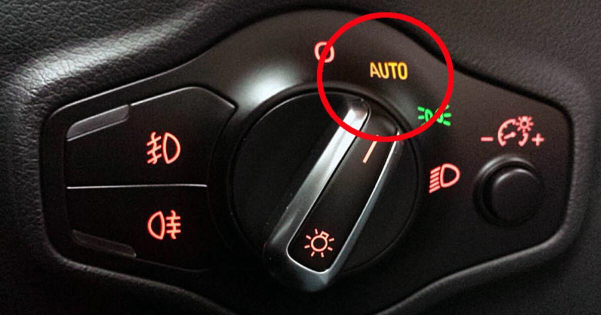 justere lys på bil