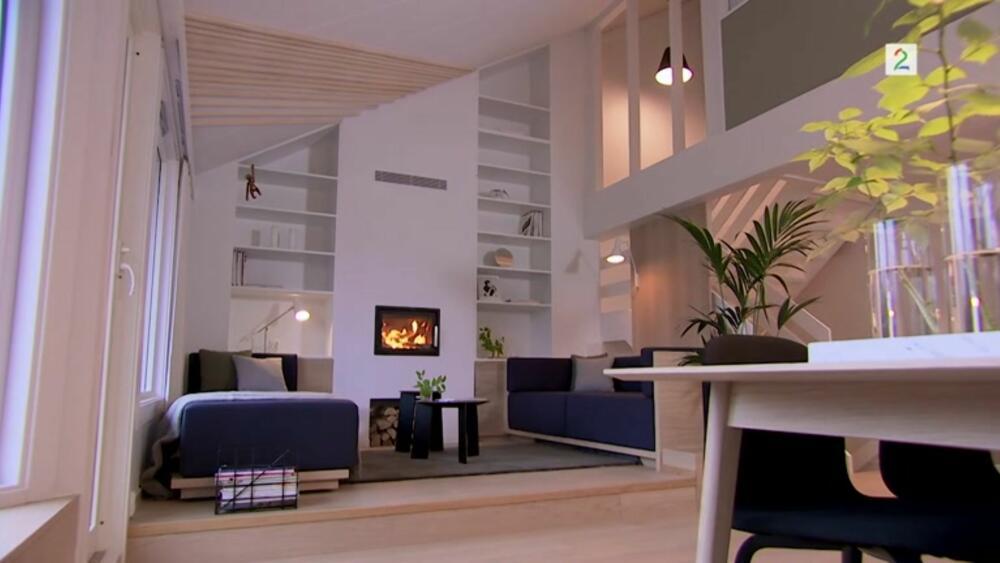 Tid for hjem skapte splitter ny stue - se forandringene