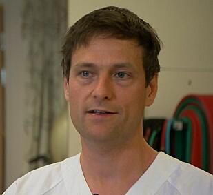 Lege Ole Martin Steihaug er spesialist på geriatri, og har skrevet doktorgrad på muskelsvinn blant eldre. Han mener muskelmiddelet er spennende.