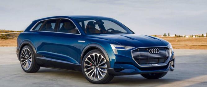 Audi e-Tron ser ut til å komme på markedet, før det er mulig å få tak i både Opel Ampera-e og Tesla Model 3 for nye kunder.