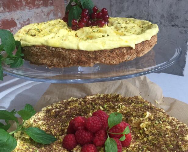 FULLTREFFER: Glutenfri suksessterte. Foto: TV 2.
