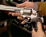 Revolver, håndvåpen, våpen, beslaglegge, beslaglagt våpen, pistol