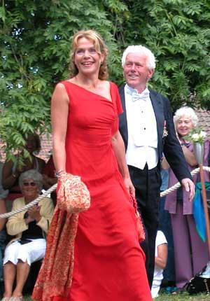 Beate Eriksen og Toralv Maurstad gledet seg til bryllupet. (Foto: Camilla Høyem, TV 2 Nettavisen)