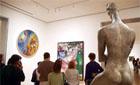 MoMA byr på både bildende kunst, skulpturer, installasjoner,   og film. Og bygget er et kunstverk i seg selv. (Foto: Ronald Toppe)