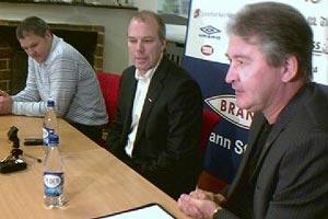 Roald   Bruun-Hanssen, sportssjef Brann (Foto: TV 2 Sporten)