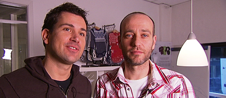 Aleksander Herresthal og André Jåtog (Foto: TV 2)