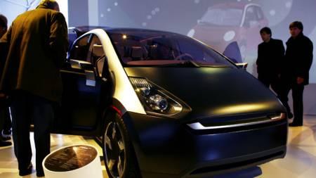 Think OX elektrisk bil (Foto: SCANPIX)