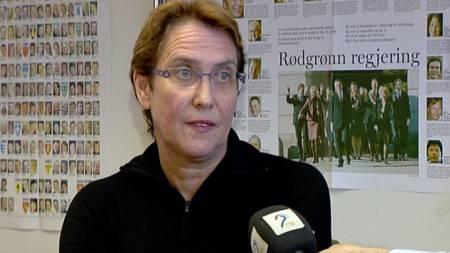 Valgforsker Hanne Marthe Narud. (Foto: TV2)