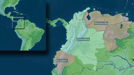 colombia kart venezuela ecuador farc