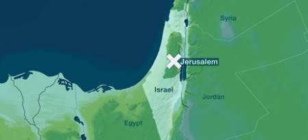 Angrepet skjedde i Jerusalem.