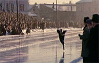 Hjallis setter verdensrekord på Hamar i 1952.